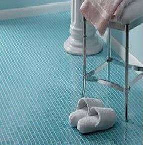 blue tile bathroom floor blue mosaic tile bathroom floor flooring ideas floor 17473