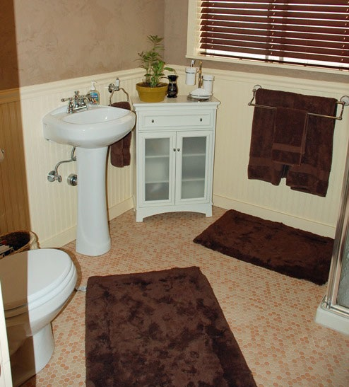 Installing Tile Floor In Bathroom Flooring Ideas Floor Design Trends