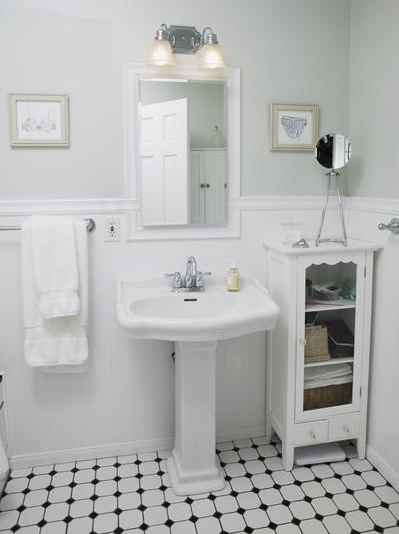 Installing Mosaic Tile In Bathroom Flooring Ideas Floor Design