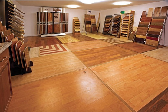Vinyl material as cheap flooring ideas Beautiful Cheap Flooring Ideas for The Rooms