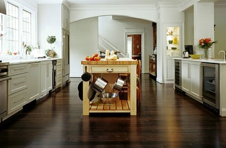 Elegant looks laminate flooring for kitchen