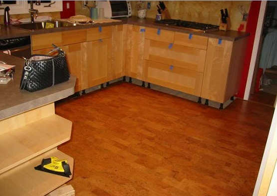 Eco Cork Flooring For Kitchen