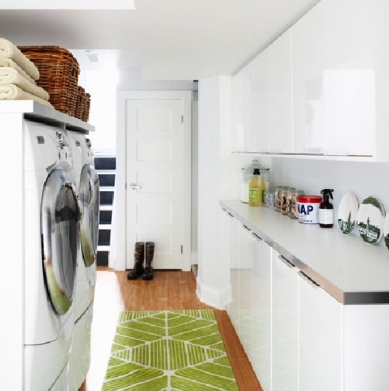 Hardwood floor plans for laundry room