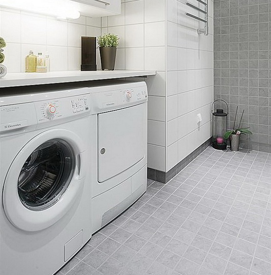 Laundry room floor plans and designs flooring ideas for Laundry room floor ideas