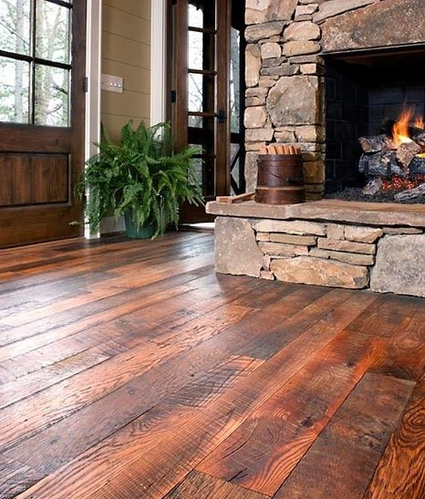 20 Amazing Design And Ideas Of Rustic Hardwood Flooring Flooring