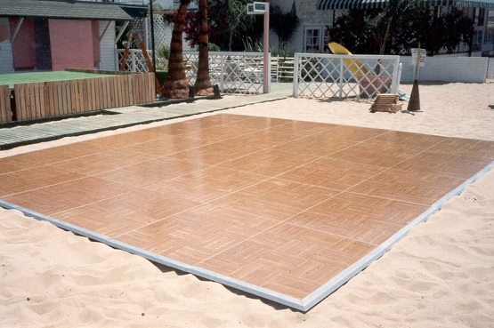 Portable Outdoor Flooring : Portable dance floors for any occasions flooring ideas