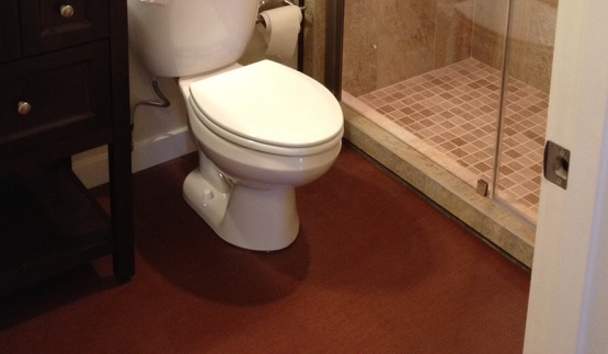 cork flooring bathroom pros cons pros and cons of using cork flooring in bathroom 22984