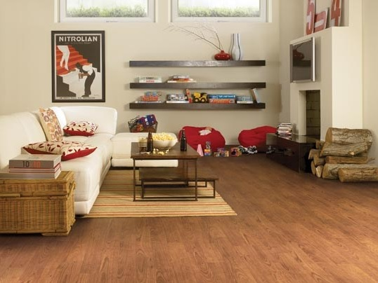 Elegant cherry tarkett laminate flooring