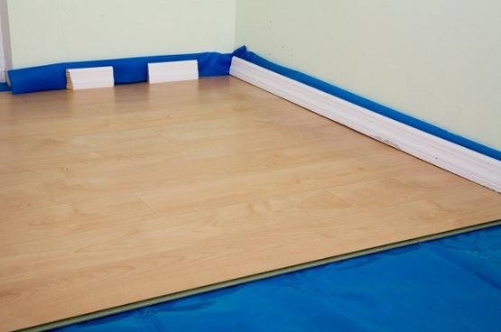 Laminate wood flooring underlayment flooring ideas for Wood floor underlayment