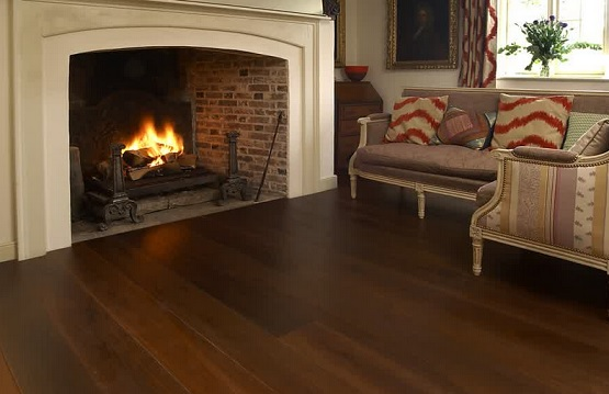 Natural oak wood floor colors