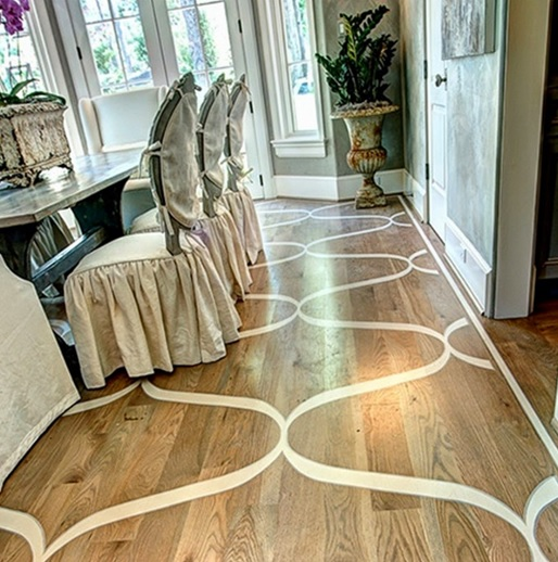 Painting wood floor ideas