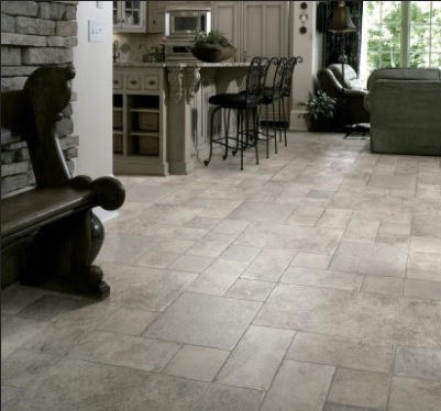 Stone tile swiftlock laminate flooring