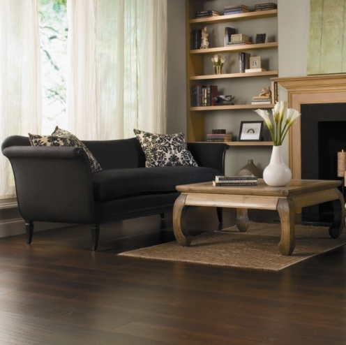 Walnut swiftlock laminate flooring