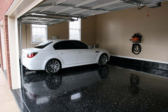 Black Epoxy Garage Floor Paint Ideas Flooring