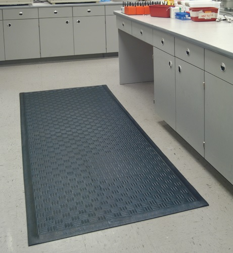 Comfort rubber kitchen mats - anti fatigue mats