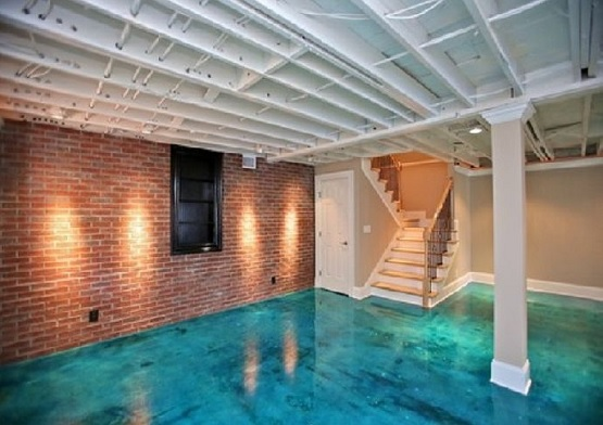 Basement Floor Paint Ideas U2013 Pick Up The Best Paint Color For Your Basement  » Concrete Basement Floor Paint Ideas