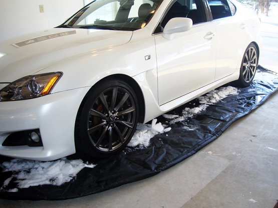 Garage floor snow mats - Autofloor