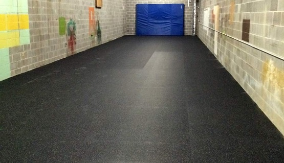 Greatmats rolled rubber flooring