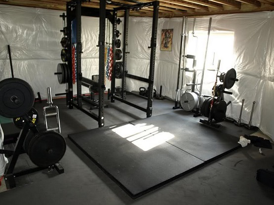 Rubber flooring for home gym ideas floor