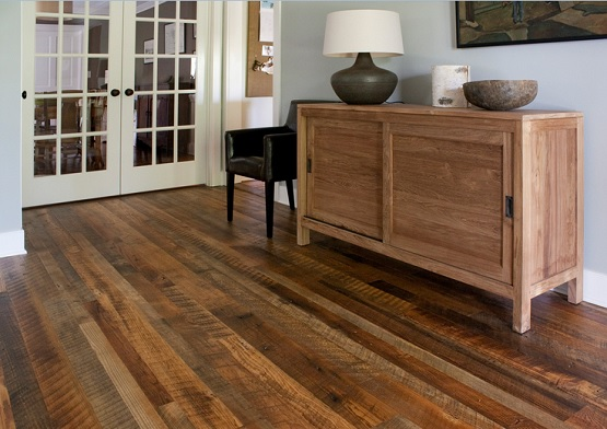 Reclaimed oak flooring antique texture