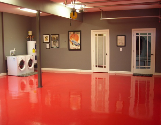 best paint color for your basement red epoxy basement floor paint