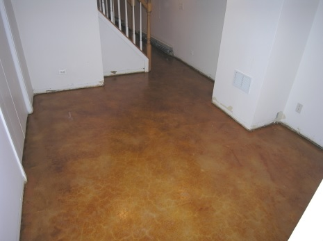 Acrylic sealers for basement floor