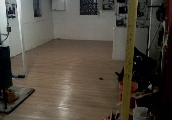 Basement flooring with Vinyl plank