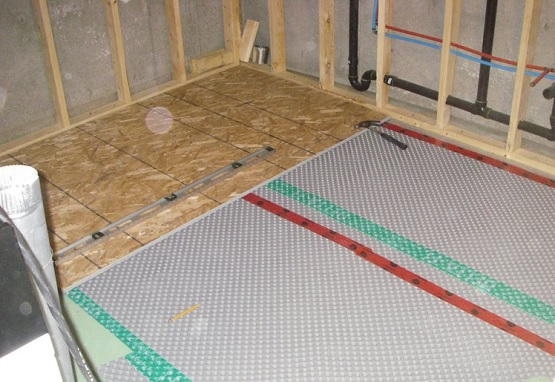 Insulating basement subfloor options