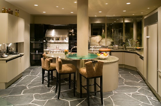 Natural Stone Flooring For Kitchen
