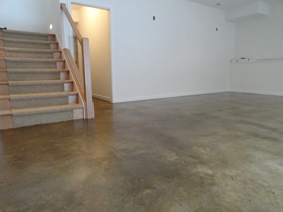 Sealed Concrete Basement Waterproof Floor