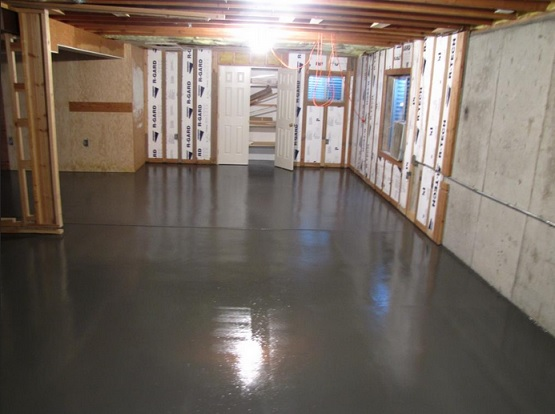 How to choose waterproof basement flooring flooring for Basement flooring ideas pictures
