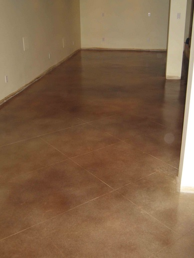 Water-based basement floor epoxy