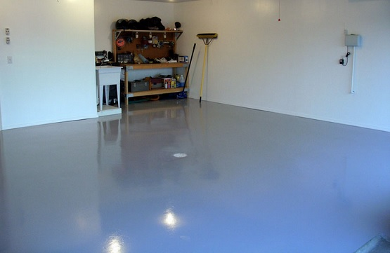 Water-based epoxy waterproof basement flooring