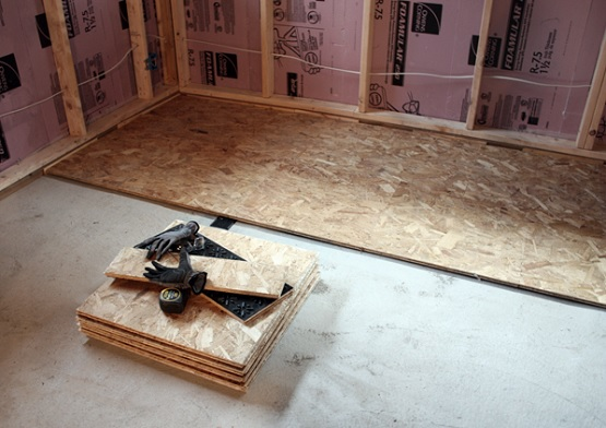 Basement Subfloor Options Flooring Ideas Floor Design