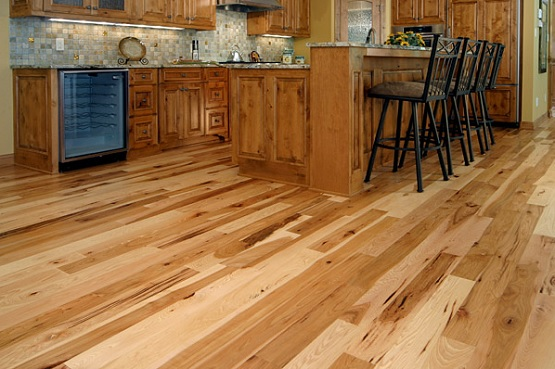wooden floorboards tongue and groove wood flooring in kitchen