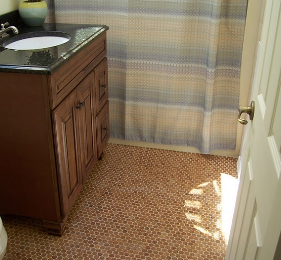 Vintage Bathroom Floor Tile Patterns