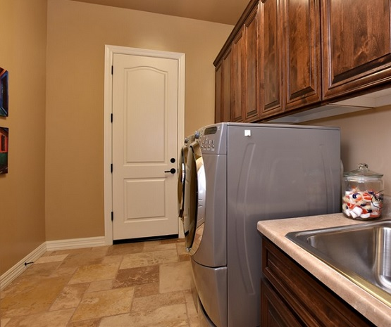 Light brown laundry room tile ideas
