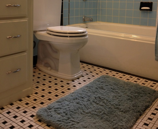 Vintage Bathroom Floor Tile Patterns | Flooring Ideas | Floor Design ...