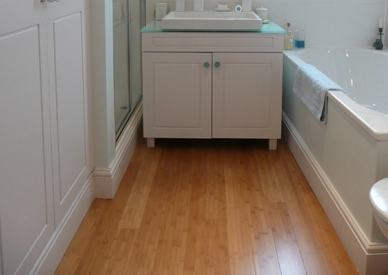 Strand Engineered Bamboo Flooring In Bathroom Flooring Ideas Floor Design Trends