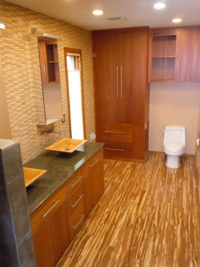 bamboo flooring in bathroom strand woven tiger bamboo flooring in bathroom flooring 15480