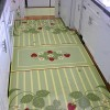 Strawberry laundry room rugs and mats for small space