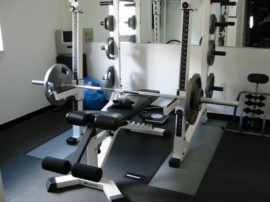 3 4 inch thickness rubber home gym flooring options