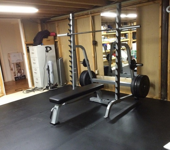 Basement Gym Flooring Design And Review