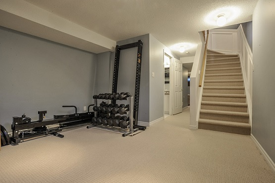 Small basement gym flooring ideas