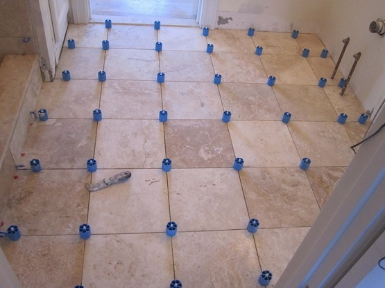 Retile Bathroom Floor On A Budget Flooring Ideas