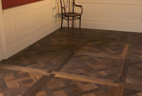 Antique oak Reclaimed parquet flooring