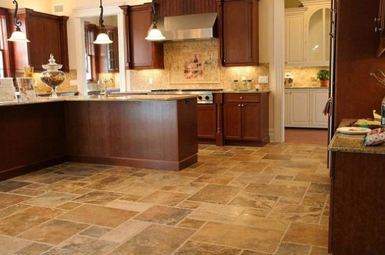 Choose the floor coverings for kitchens which fit your for Kitchen floor covering