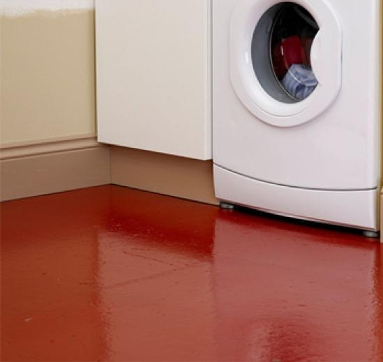 Non slip floor paint for laundry room