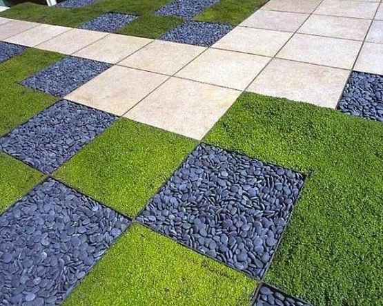 Garden flooring ideas for outdoor