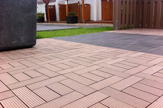 Interlocking Deck Tiles For Luxurious Outdoor Space